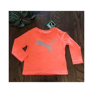 PUMA BABY LONG SLEEVE SHIRT SIZE 6-9 months